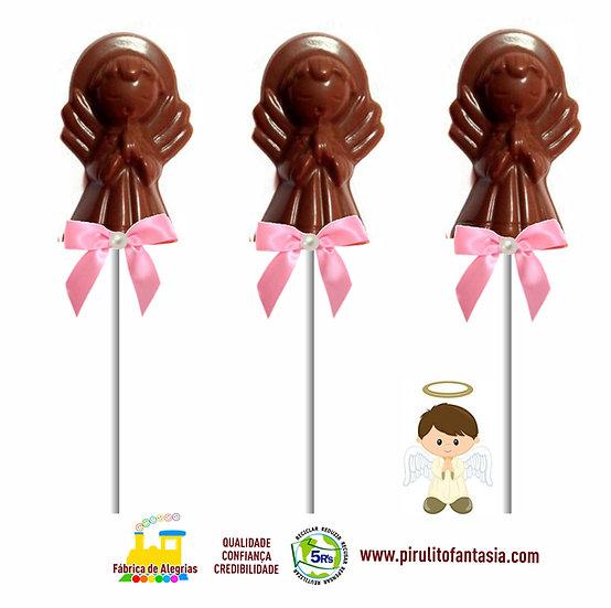 Pirulito de Chocolate Anjinho