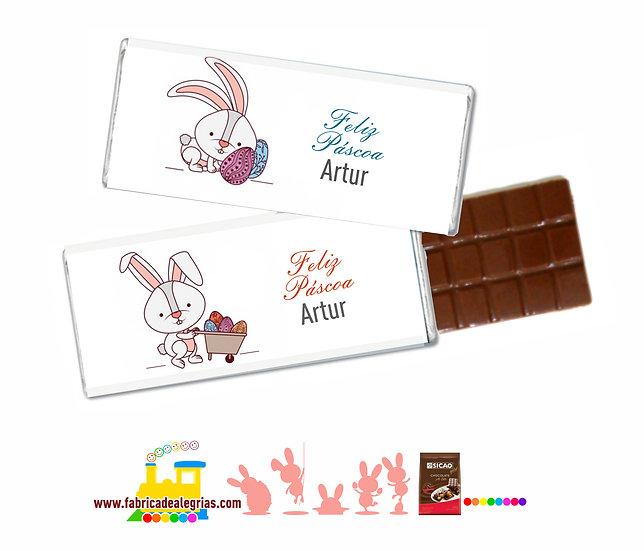 Barrinhas de Chocolate de Páscoa
