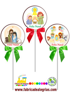 Pirulitos de Natal 2020