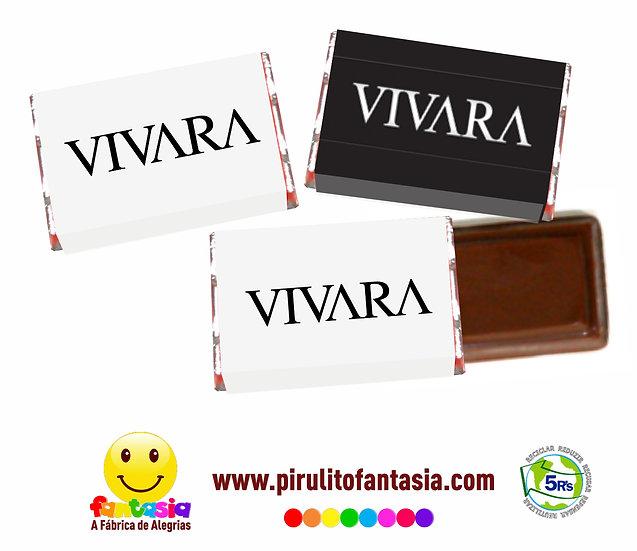 Mini Barrinhas de Chocolate Fantasia
