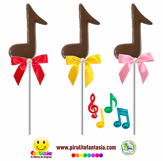 Pirulito Nota Musical