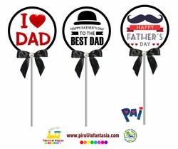 Pirulito Personalizado Dia dos Pais