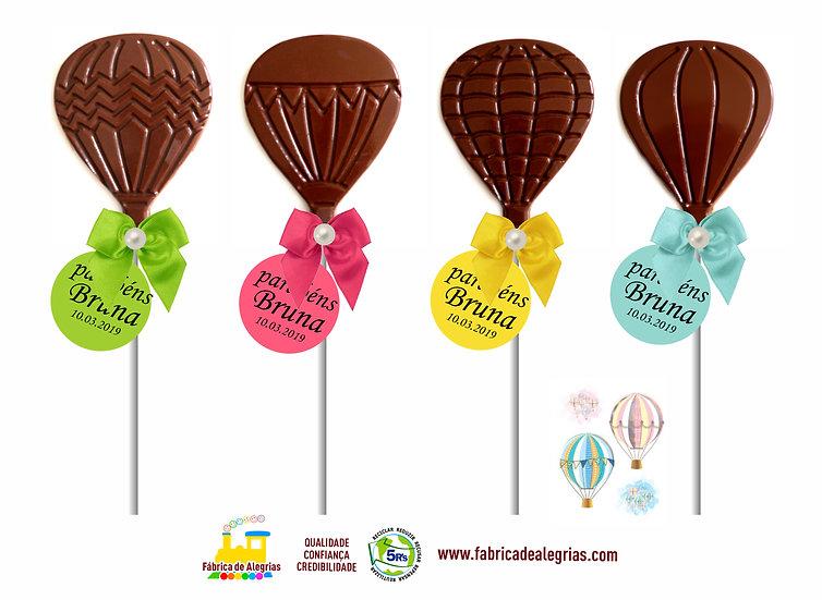 Pirulito de Chocolate Balão