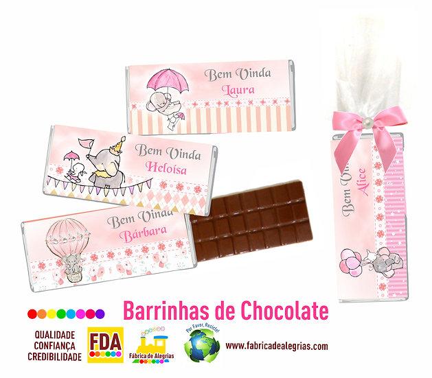 Barrinhas de Chocolate Maternidade