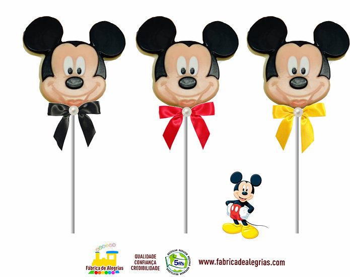 Pirulito de Chocolate Mickey Mouse