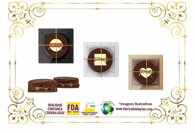 Caixa de Pão de Mel Empress Redondo 1 Unidade - a partir de R$ 9,90 a unidade