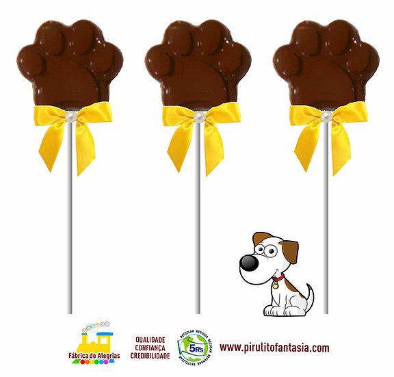 Pirulito de Chocolate Patinha
