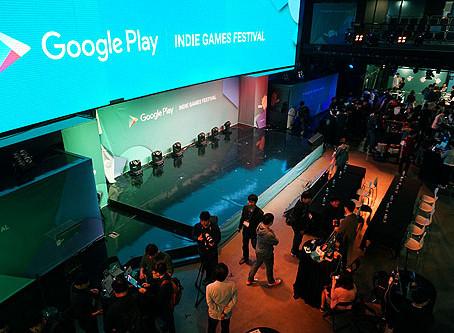 30개 인디게임 한자리에, '구글플레이 인디 게임 페스티벌' 성황