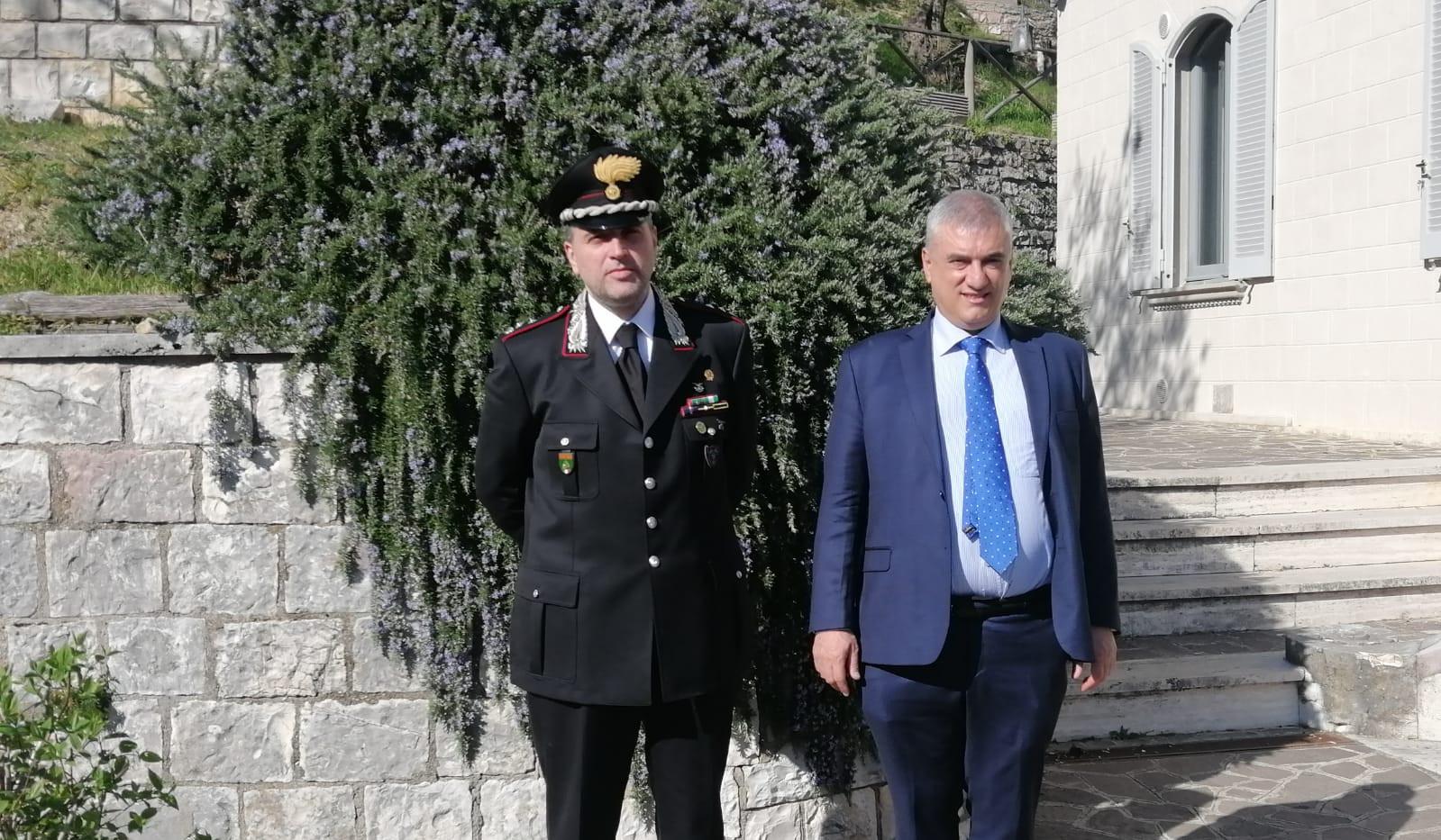 visita_reparto_carabinieri_Assisi_30_03_2021