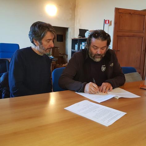 Sottoscrizione di protocollo di intesa tra la Riserva ed il GAL Trasimeno-Orvietano_1