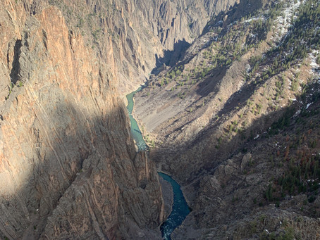 4:17:19 Day 1 Walk The Parks Road Trip: Day 1. Black Canyon of the Gunnison National Park