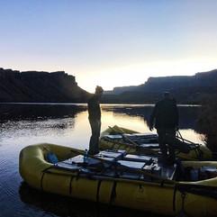 Starting a Grand Canyon raft trip on my