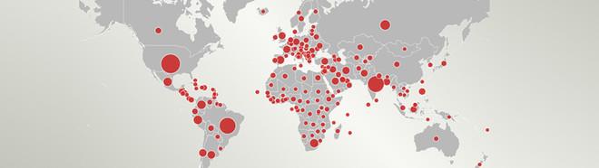 Die globale Covidseuche und die Reisewarnungen