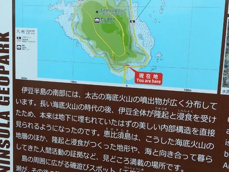 大人の休日倶楽部のCMに流れている 下田 恵比寿島に行ってきました
