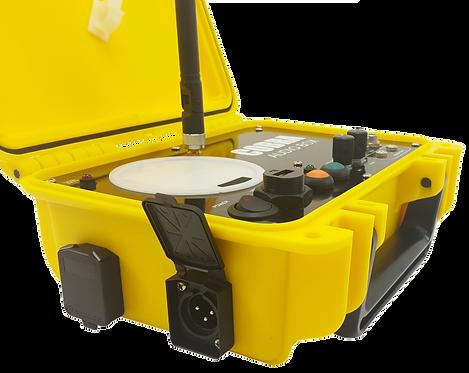 COBRA AUDIO BOX con XLR- Modulo Audio per Piromusicali con uscite audio XLR