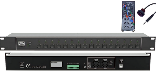 "Interfaccia DMX ""Rack1024"" – Sweetlight"