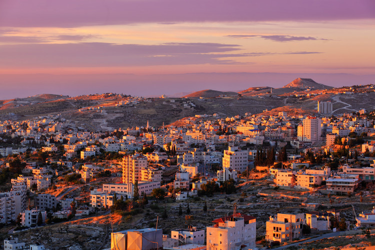 Sunrise in Bethlehem city.jpg