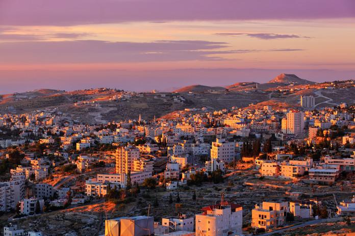 Sunrise in Bethlehem city.jpg