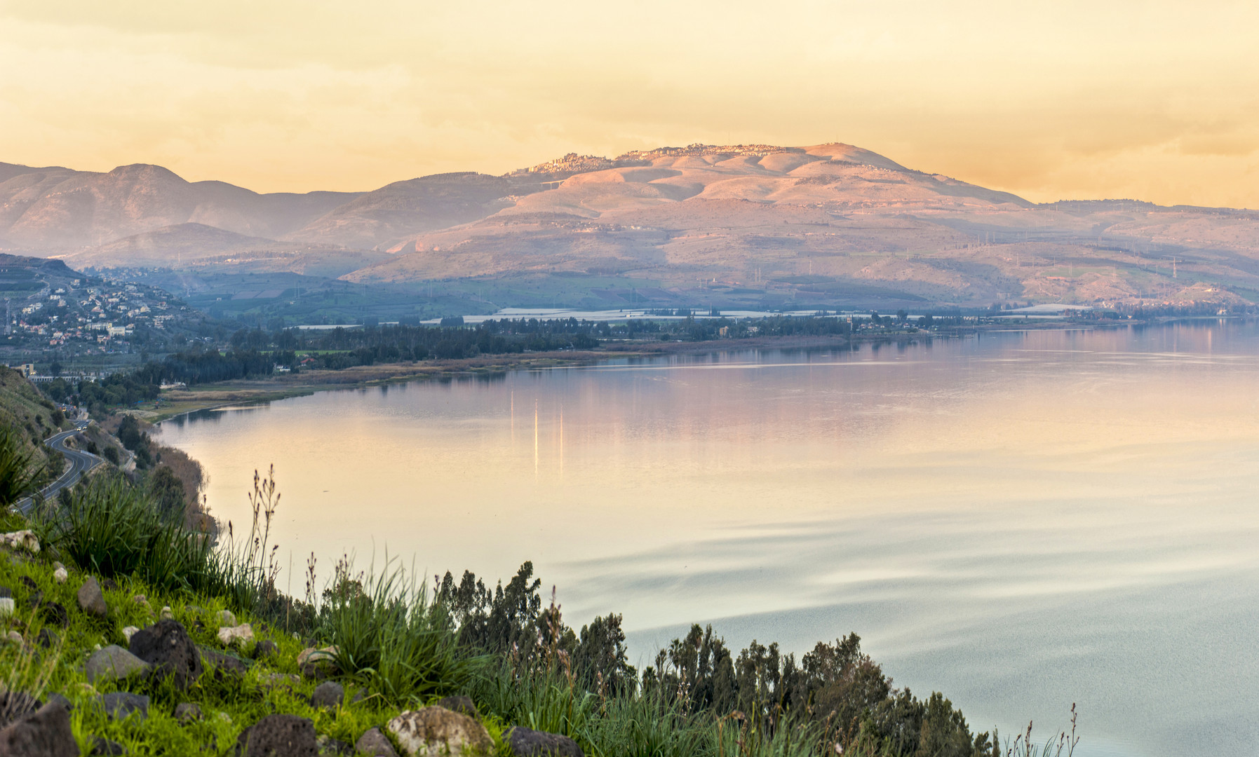 sunset on a Sea of Galilee.jpg