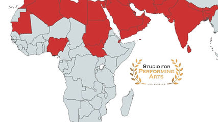 MENASA Map Studio For Performing Arts LA