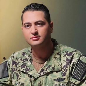 Walid Chaya On-Set US Navy Film Shoot