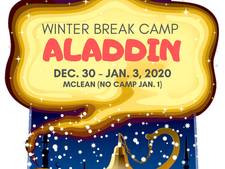 "ACTion! ""ALADDIN"" (Winter Break Camp)"