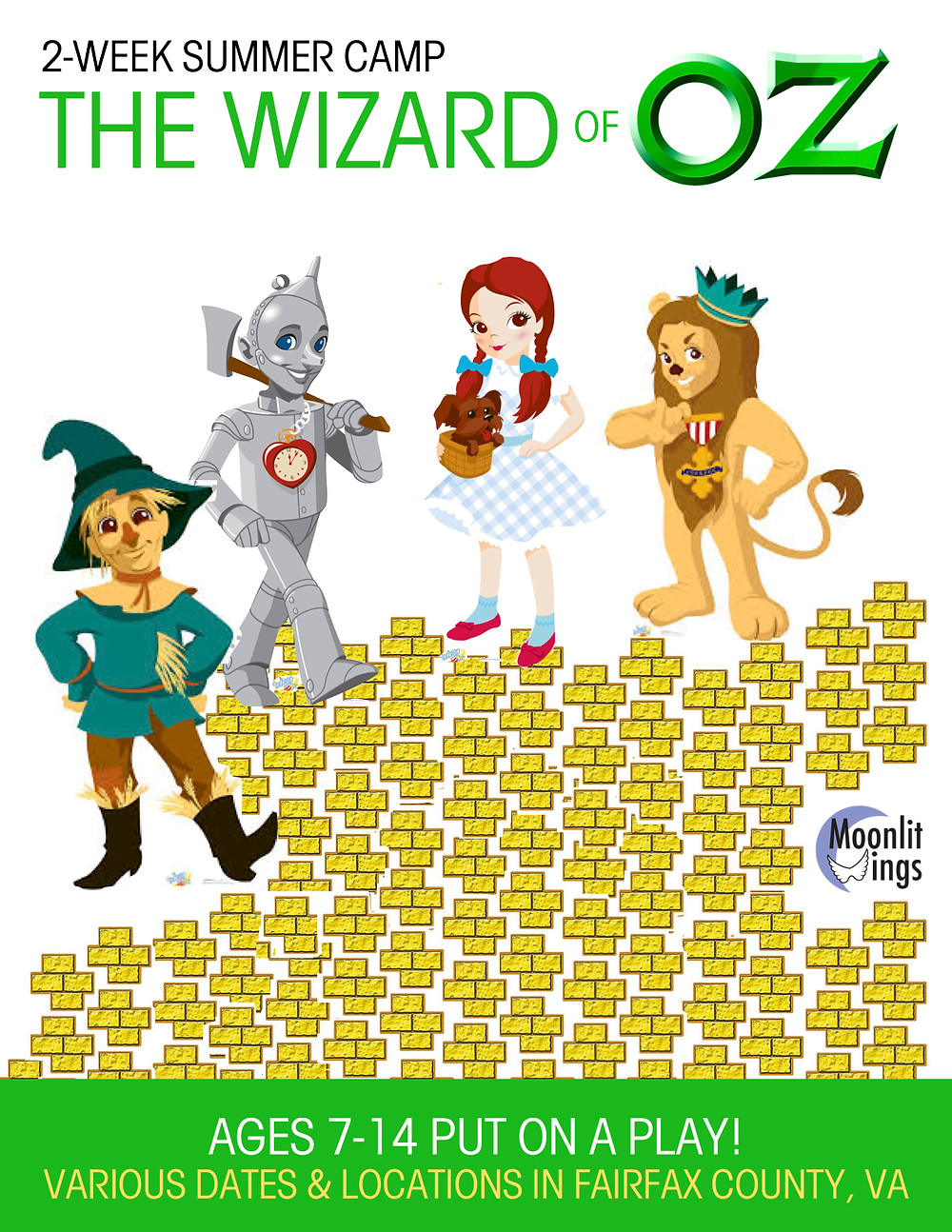 "ACTion! Summer Camp presents ""The Wizard of Oz"""