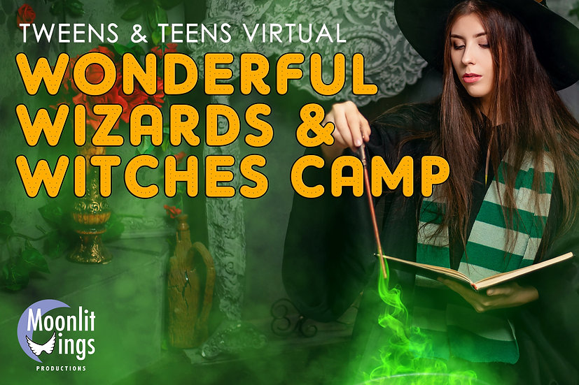 Wonderful Wizards and Witches - Online for Young Performers (Dec. 28-31)