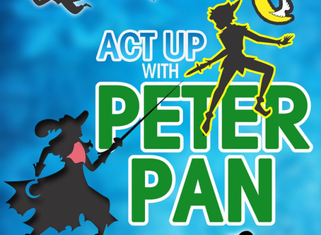 """New Spring Class: ACT UP with """"Peter Pan"""" - Ages 4-14 Register Now!"""