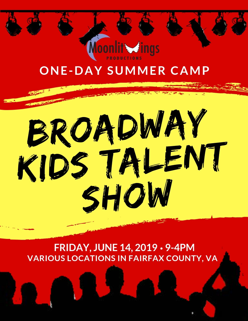 ACTion! Summer Camp presents Broadway Talent Show