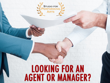 "FREE! ""5 Successful Strategies to Find an Agent or Manager"" Webinar"