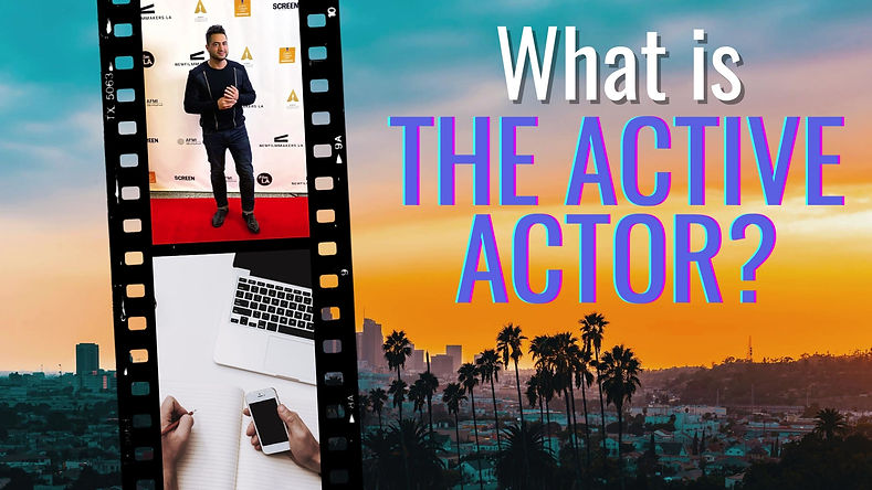 The Active Actor Monthly Package