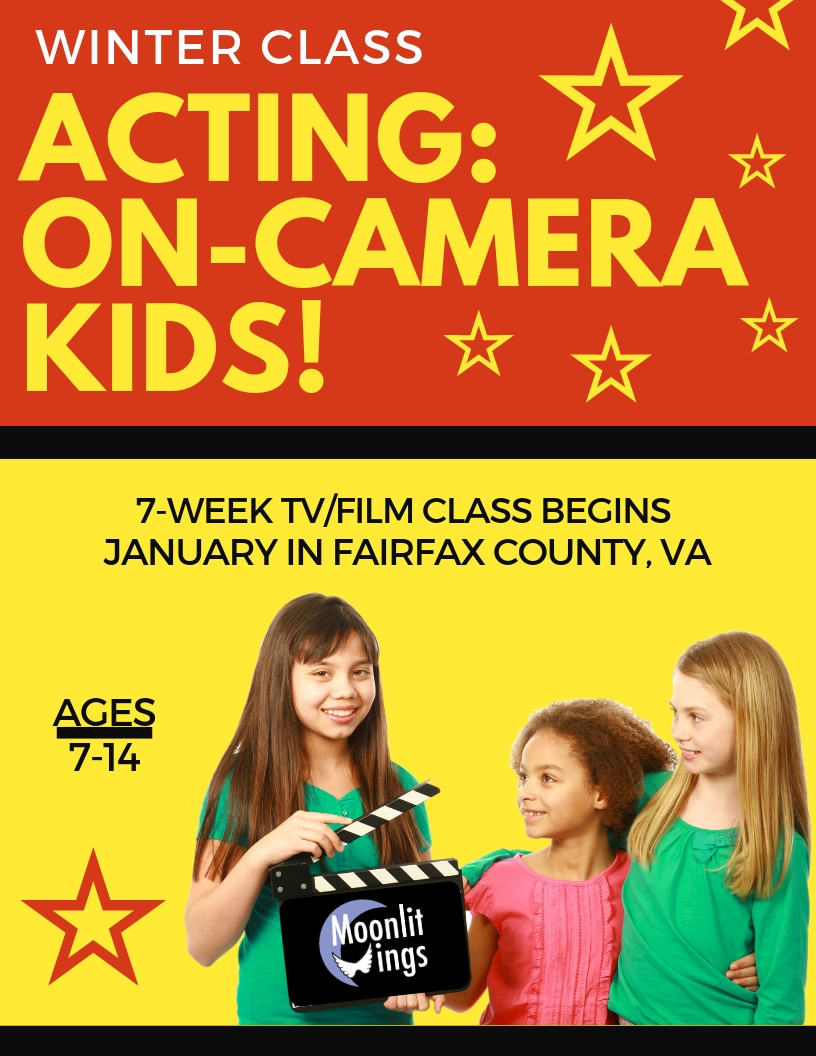 Acting: On-Camera Kids - 7-Week Class by Moonlit Wings Productions