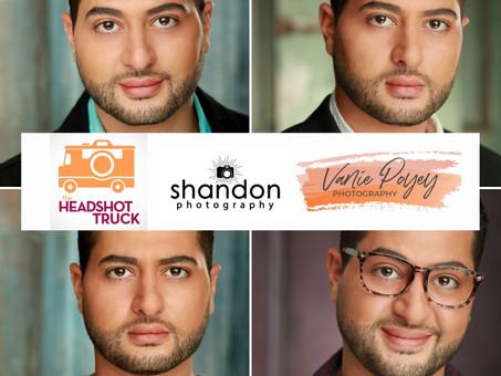 Walid's 3 Amazing LA Headshot Photographer Recommendations