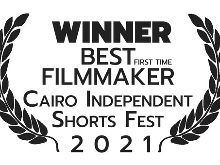"Walid Chaya WINNER at Cairo Ind. Short Fest for ""Driving Ms. Saudi"" Film"