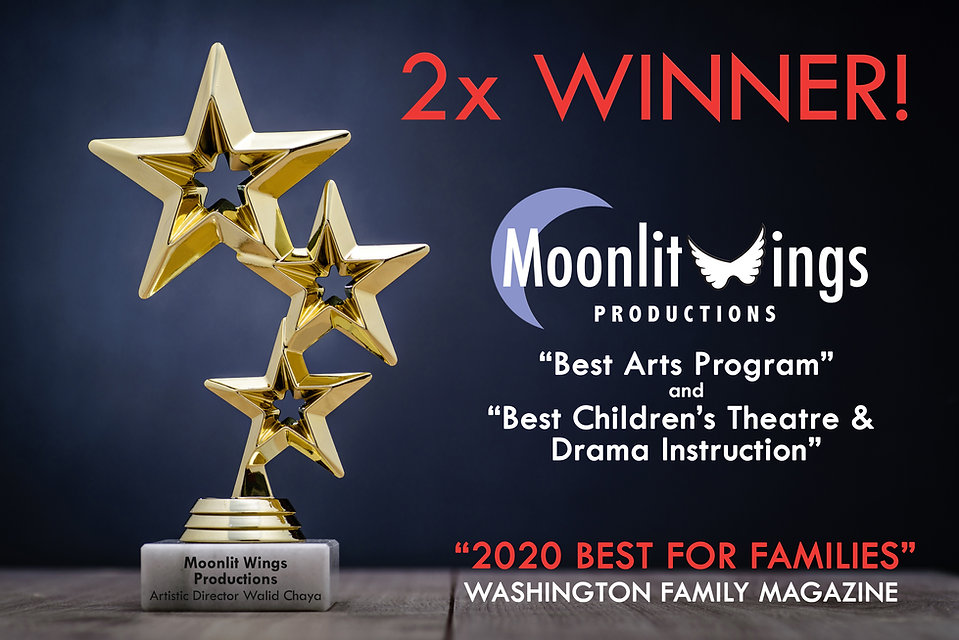 Best of Families Award 2020 to Moonlit Wings from Washington Family Magazine