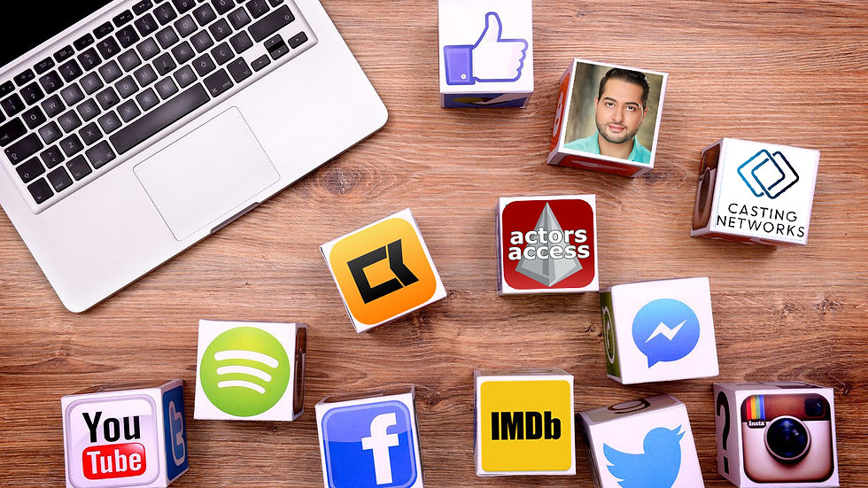 5 SOCIAL MEDIA & BRANDING STRATEGIES FOR ACTORS - WEBINAR (10/1 @ 12PM PST)