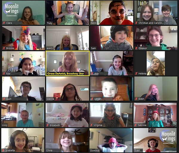 Virtual Bway Camp Collage July 2020 with