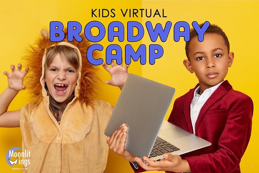 Broadway Camp - Online for Young Performers (Dec. 21-23)
