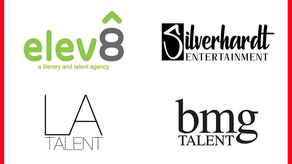 TALENT REP VIRTUAL SHOWCASE: PERFORM FOR 3 TALENT AGENTS & 1  MANAGER - FEB. 27