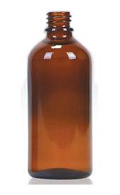 Envase Frasco de vidrio 100ml boca 18 Levin