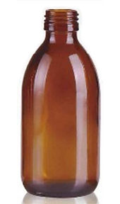 Envase Frasco de vidrio 250ml boca 28 Levin