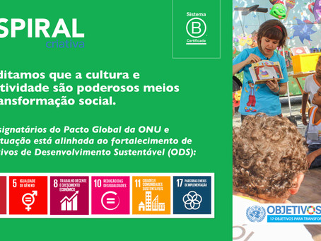 Spiral Criativa é Signatária do Pacto Global da ONU: uma visão estratégica alinhada ao Triple Bottom