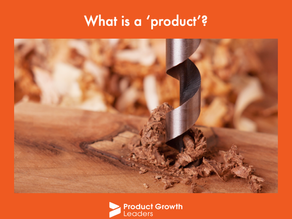 """What is a """"product""""?"""