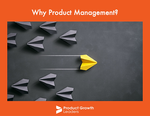 Why Product Management