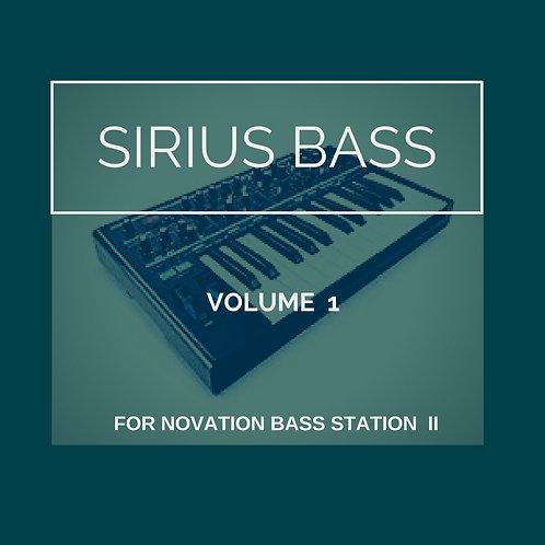 SIRIUS BASS VOL. 1 (BSII)
