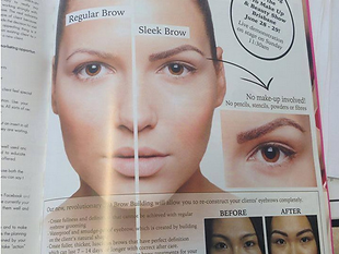 sleek brows utbildning
