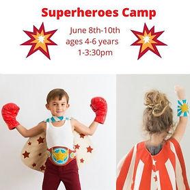 Superheroes Camp