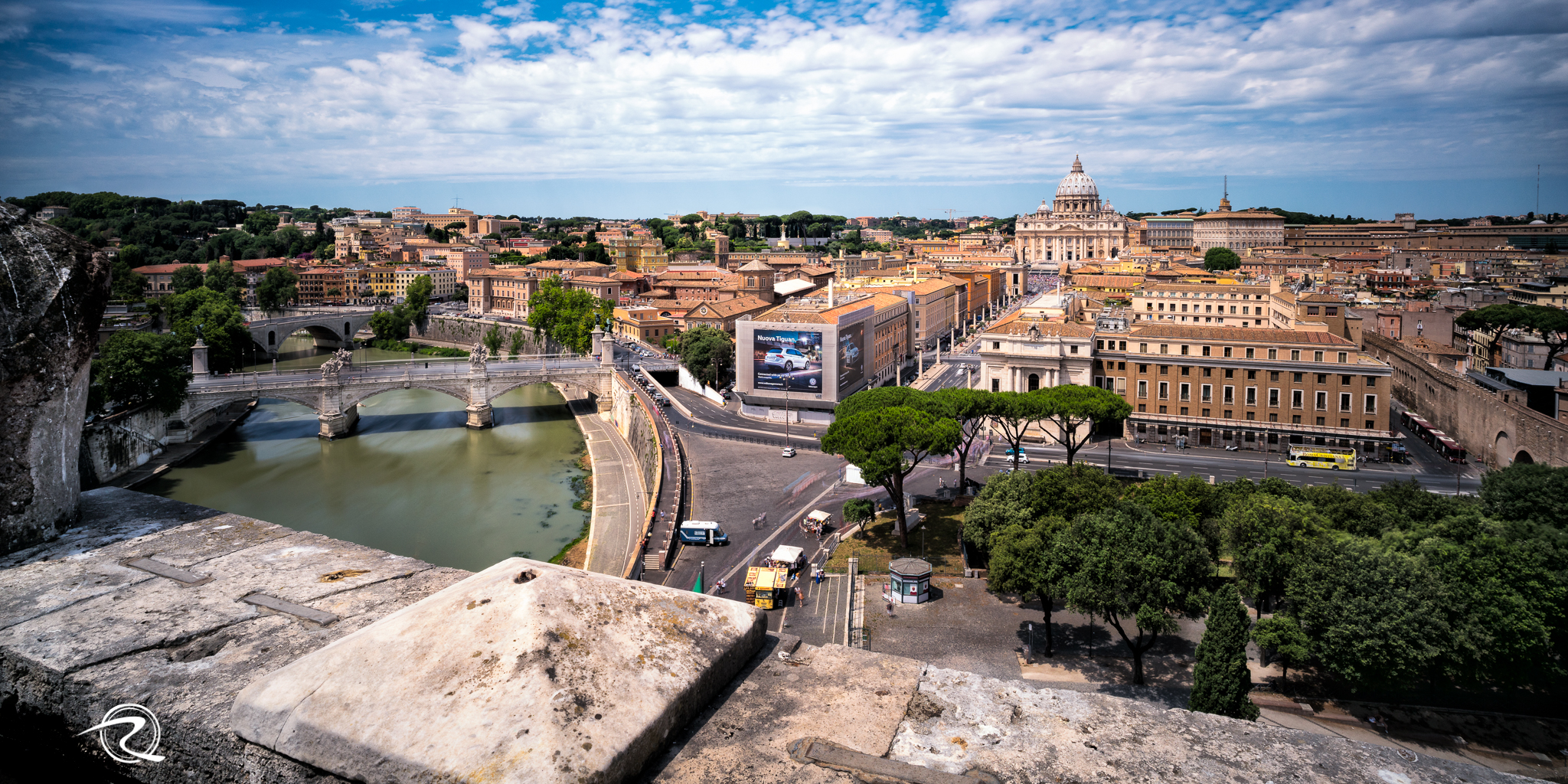 View from Castel St Angelo