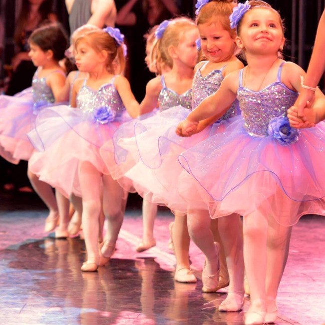 Young Dancers at recital